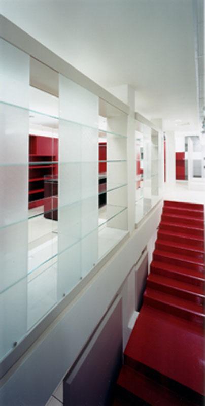 Clothing shop design by Annalisa Mauri